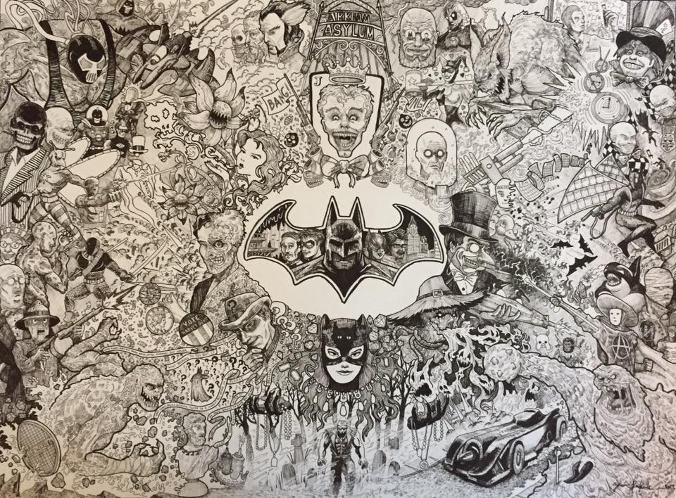 Wild Piece - Batman & The Dark Knight