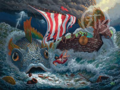Shop Product: Book of Jonah - Limited Edition Canvas
