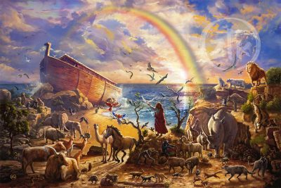Noah's Ark Limited Edition Canvas