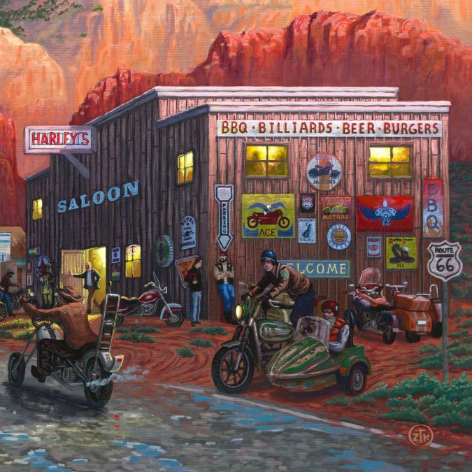 New Art Release: Get Your Kicks on Route 66