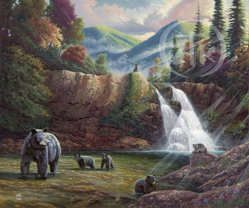 Artwork: Spirit of the Smokies Limited Edition Canvas