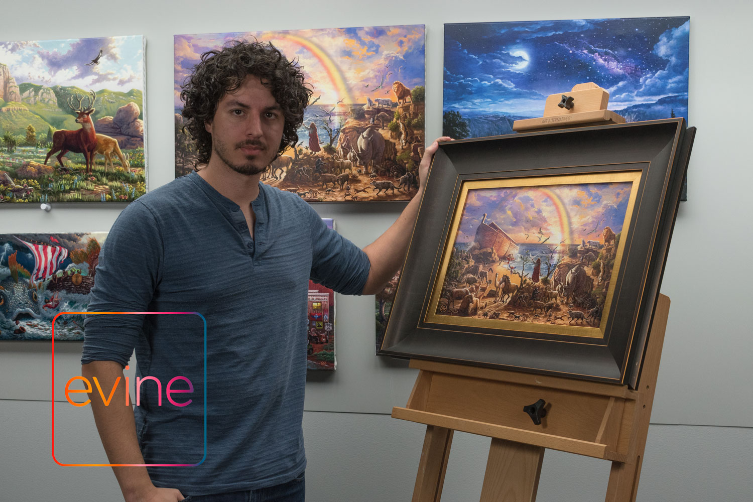 Zac Thomas Kinkade - Back on Evine