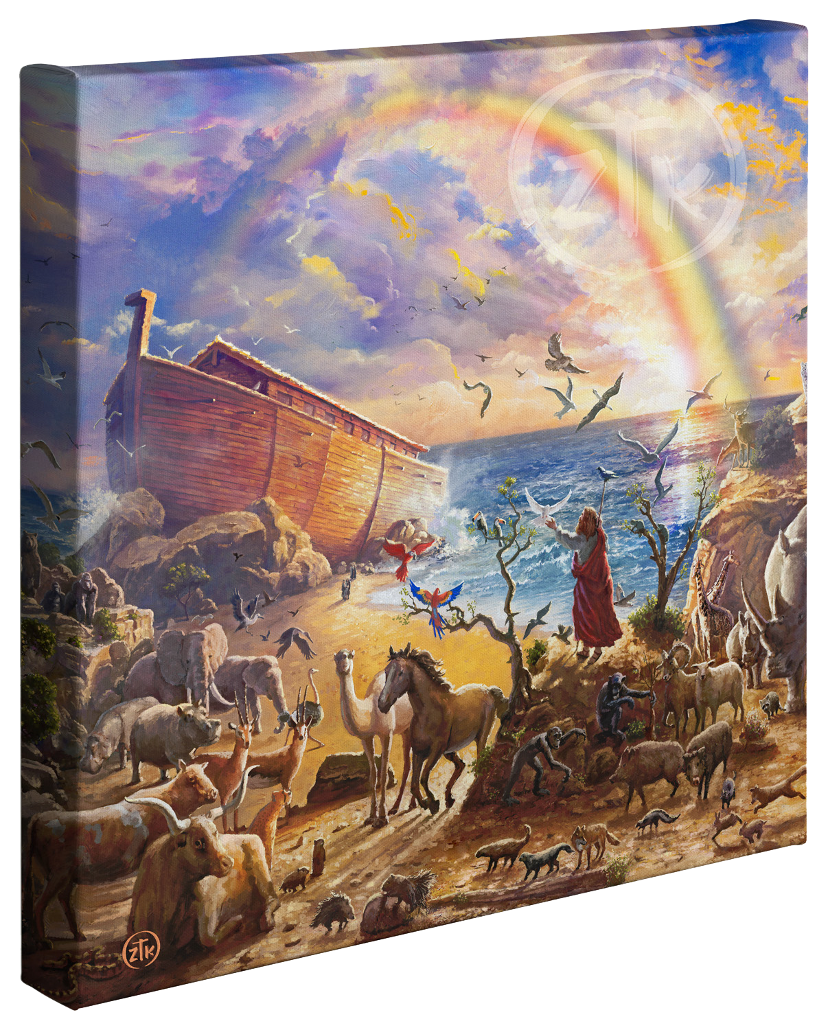 Noah's Ark Gallery Wrapped Canvas
