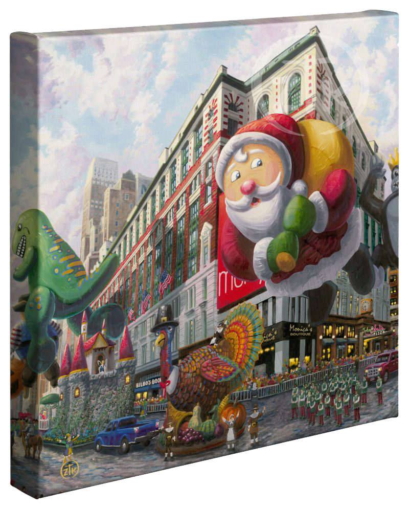 Shop Product: Thanksgiving in New York Gallery Wrapped Canvas