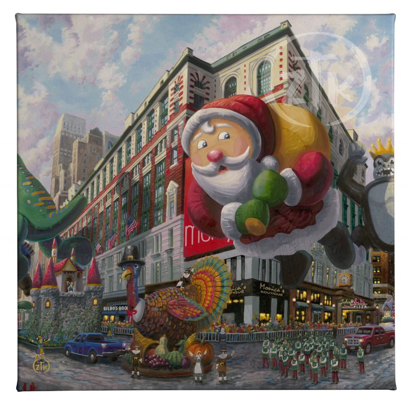 "Thanksgiving in NY - 14"" x 14"" Gallery Wrapped Canvas"