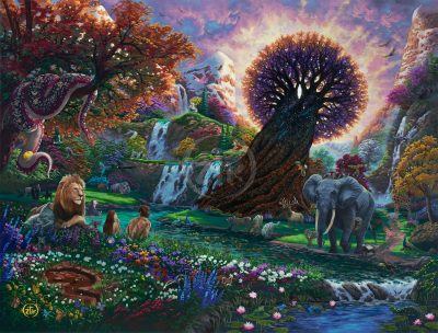 Garden of Eden - Limited Edition Canvas
