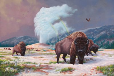 Spirt of Yellowstone - Limited Edition Canvas