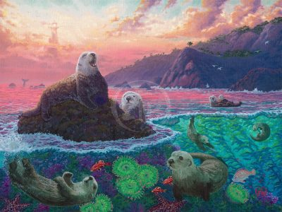 Otterly Ridiculous - Limited Edition Canvas