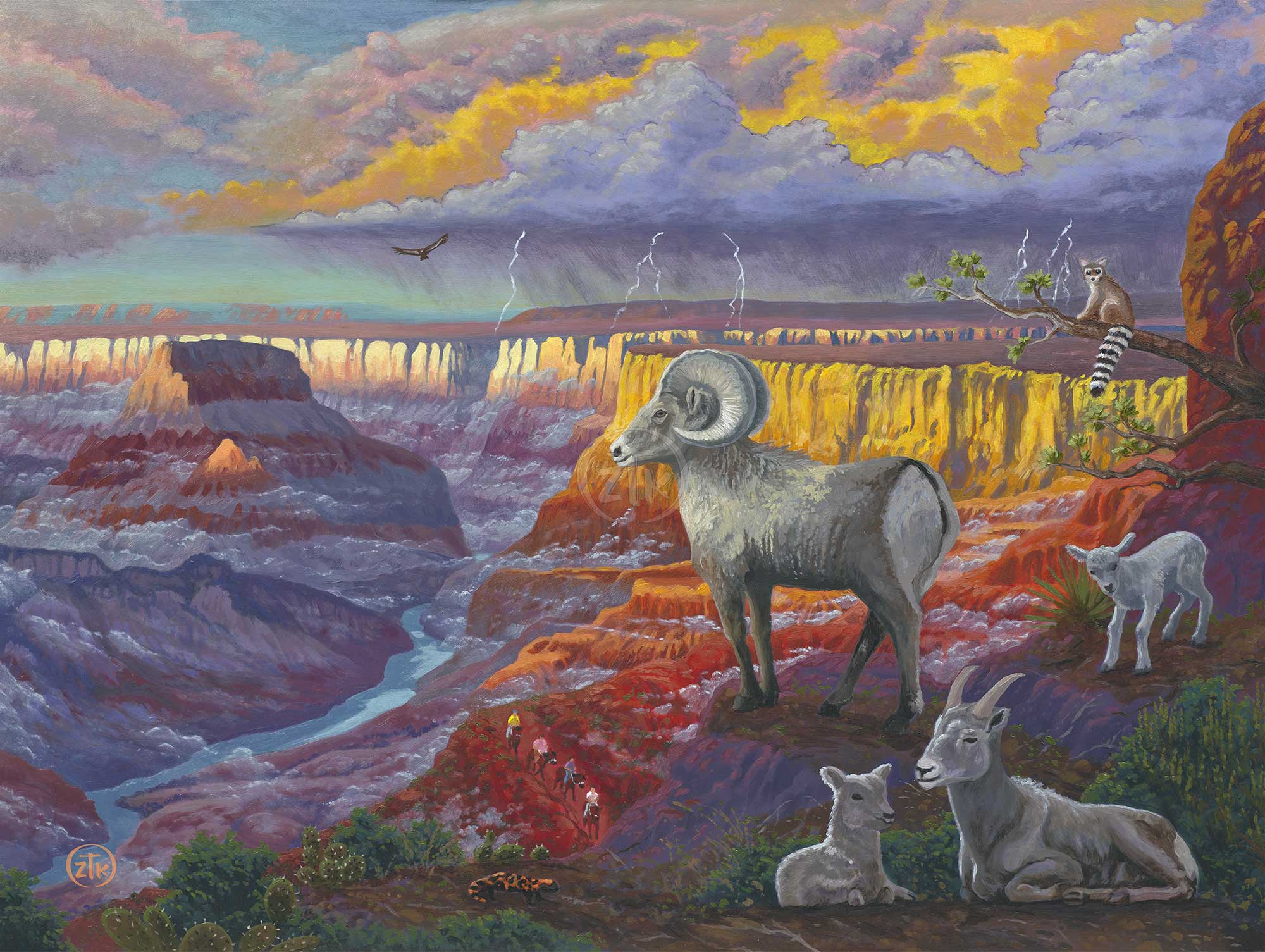 Spirit of the Grand Canyon - Limited Edition Canvas